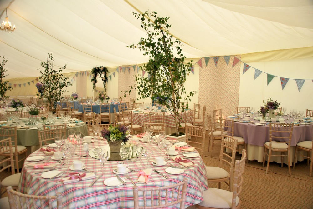 Marquee hire in Cuckfield.